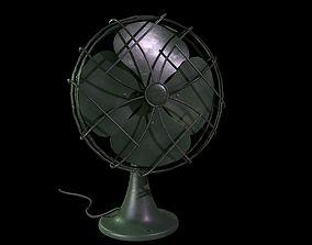 Vintage Eletric Fan 3D asset