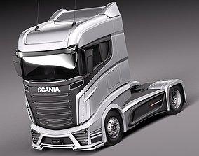3D model Scania R1000 2014