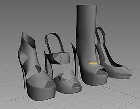 3D model Women Shoes