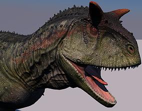 3D Carnotaurus Dinosaur Animated