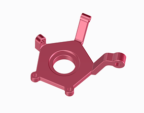 Steering knuckle - Kids and Student 3D print model