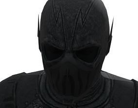 3D asset VR / AR ready Zoom Villain from The Flash