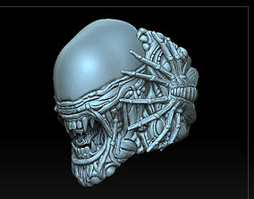 various-models ALIEN RING DETAILED MODEL 3D