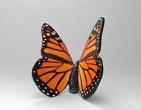 3D print model Monarch Butterfly