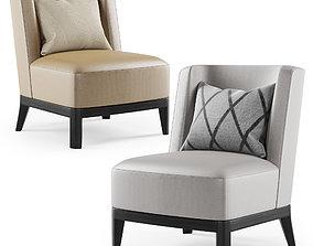 Mandarin lounge chair by Christian Liaigre 3D