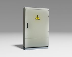 Transformer Box Vertical 3D asset