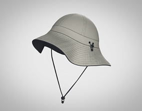 Hobo HAT made in CLO3D