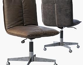 RH Platt Desk Chair 3D model