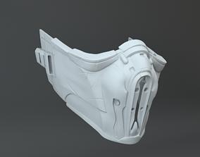 3D printable model Sub-Zero SUBZERO Mask Mortal Combat X