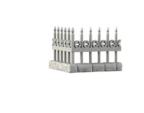 3D printable model fences and enclosure walls