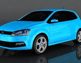 Volkswagen Polo GT 3D asset