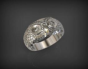 3D printable model Owl Ring 2