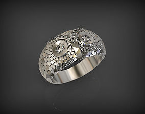 Owl Ring 2 3D printable model