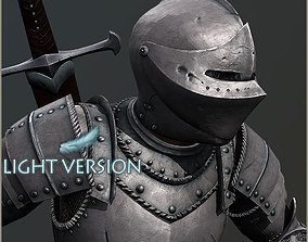 3D asset Adam Knight Light Version