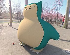 3D model Pokemon Snorlax