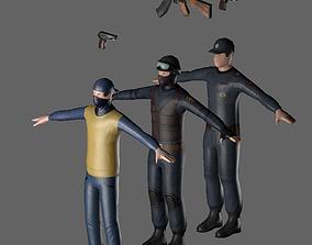 3D asset People of battle tactics MVD