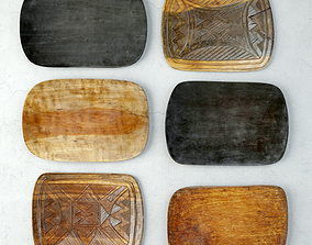 3D model Tribal Wood Decor 2