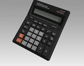 adding Electronic Calculator 3D