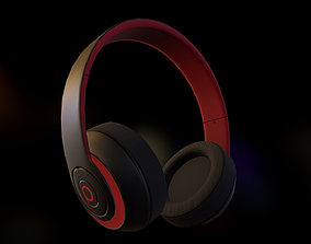 Headphone 01 3D model