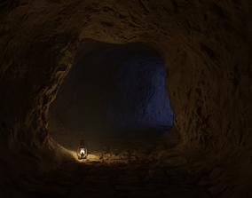 Medieval cave 3D model
