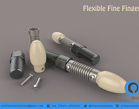 3D Flexible Fine Finger human