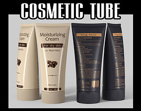 3D Cosmetic tube 02 hygiene