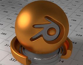 Bronze Shader 3D asset realtime