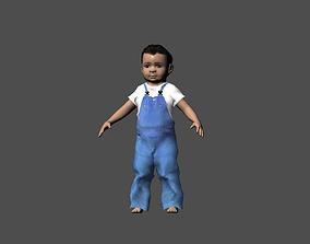 Infant 3D model