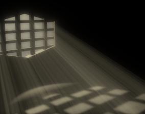 3D asset Prison Window