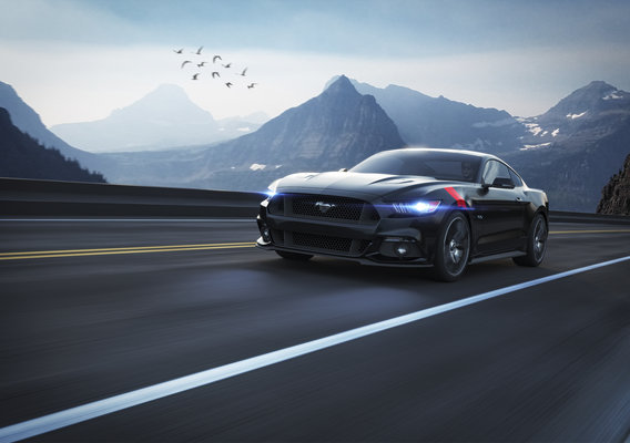 Ford Mustang GT 2015 - CGI
