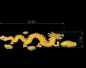 Golden Dragon For Ring Watch Bracelet 3D printable model