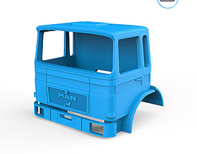 3D print model MAN F8 Cabin