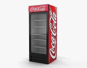 Coca-Cola Fridge 3D model