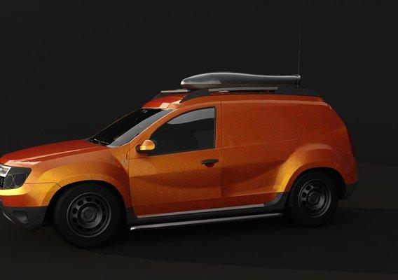 Dacia duster van concept 2010