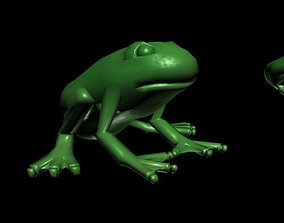 frog mesh 3D model