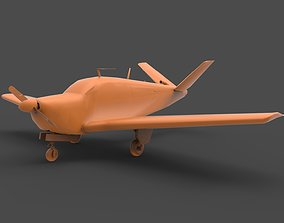 3D printable model Beechcraft Bonanza