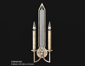 3D model Fine Art Lamps Westminster 884950