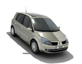 3D model Renault Scenic II 2006