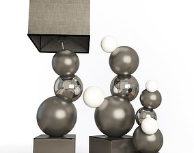 3D Floor Lamps Bubblebis