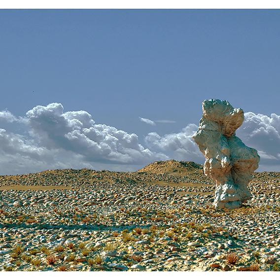 Desert in Vue