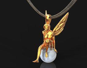 angel pendant 3d print
