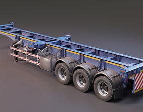 3D PBR SkeltonTrailer