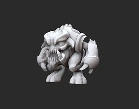 Pinky Doom Collectable Toy 3D Model STL File