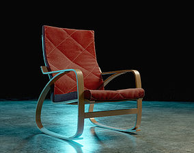 Ikea Poang Chair 3D model