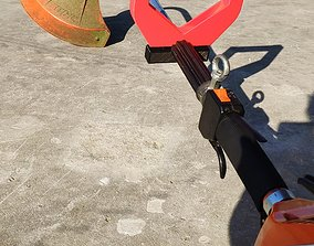 3D print model Stihl handle Stihl Haltegriff