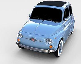 3D model Fiat 500 Nuova 1957 rev