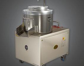 KTC - Potato Peeling Machine - PBR Game Ready 3D asset