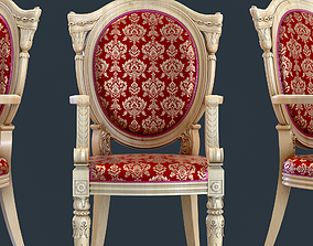3D asset low-poly Classic Chair