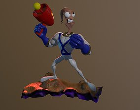 Earthworm Jim for Print
