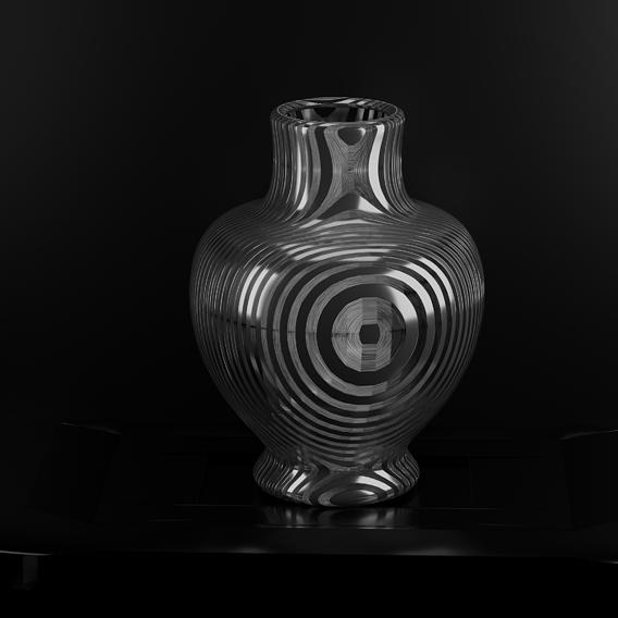 metalic pot beautiful